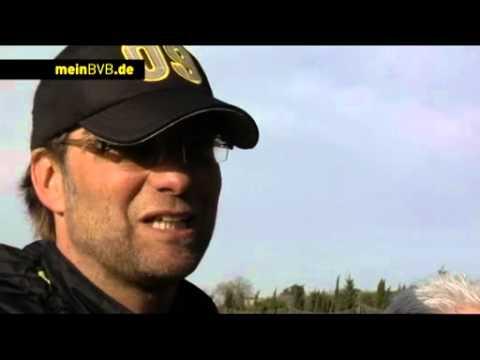 Trainingslager 2010/11 - Tag 6: Pressekonferenz mit Jürgen Klopp