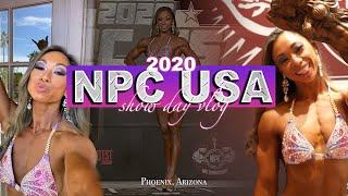 Cheynice's 2020 NPC USA Full Show Day Vlog // Figure Class D