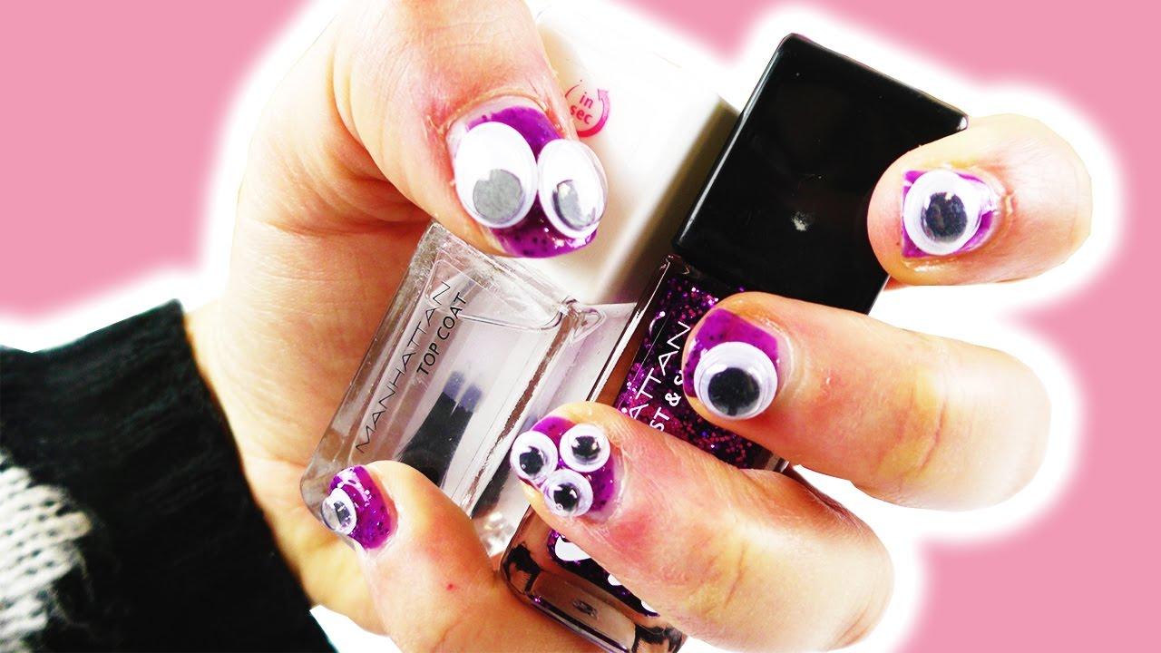 Halloween Nails | Cooles DIY Nageldesign für Halloween Party ...