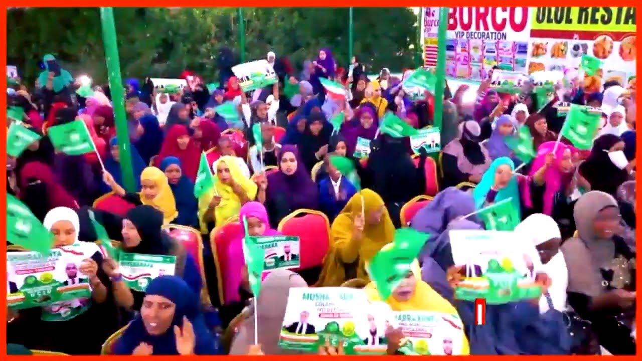 Burco Gud Faysal Cali Waraabe Oo Ka Qayb Galay Shaacinta Musharixiinta Csalaan X Buraale Iyo Jamaal - YouTube