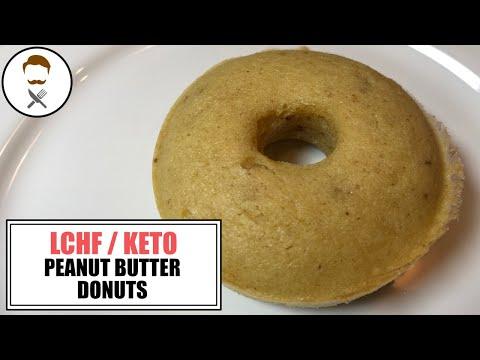 Peanut Butter Donuts || The Keto Kitchen