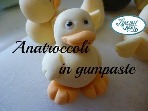 Decorazioni per torte anatroccoli in pasta di zucchero for Pasta di zucchero decorazioni