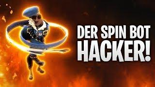 HACKER ACTIVATED SPIN BOT! 🌀 | Fortnite: Battle Royale