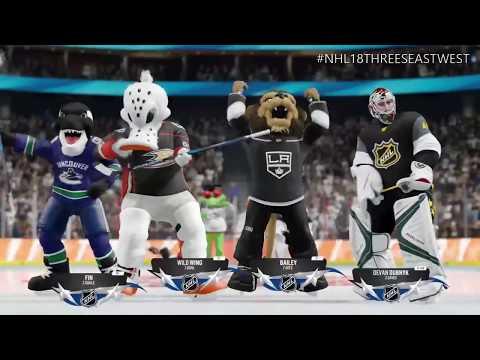 NHL®18 | Eastern Mascots vs. Western Mascots | NHL Threes Full Game