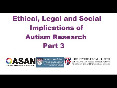 ASAN Ethical, Legal and Social Implications Symposium: Panel 3