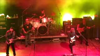 Blue Oyster Cult Hot Rails to Hell Live at Gagarin 205 Athens Greece February 6th 2014