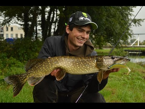 Autumn in Holland; Polder pike action!