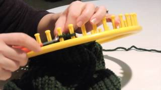 Easy Loom Knit Cowl