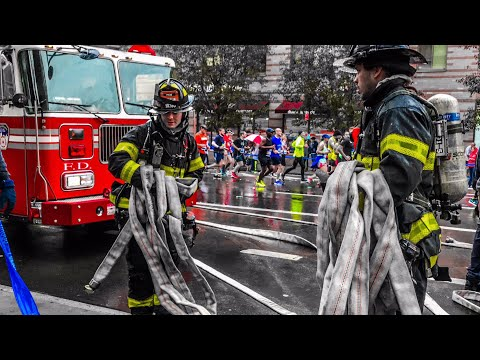 **NYC Marathon Blocked!** FDNY 10-75 All-Hands Fire Box 1277 Forces NYPD to temporarily Block Race