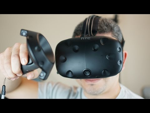 "HTC Vive Review: In VR, ""Virtual"" Should Feel This ""Real"""
