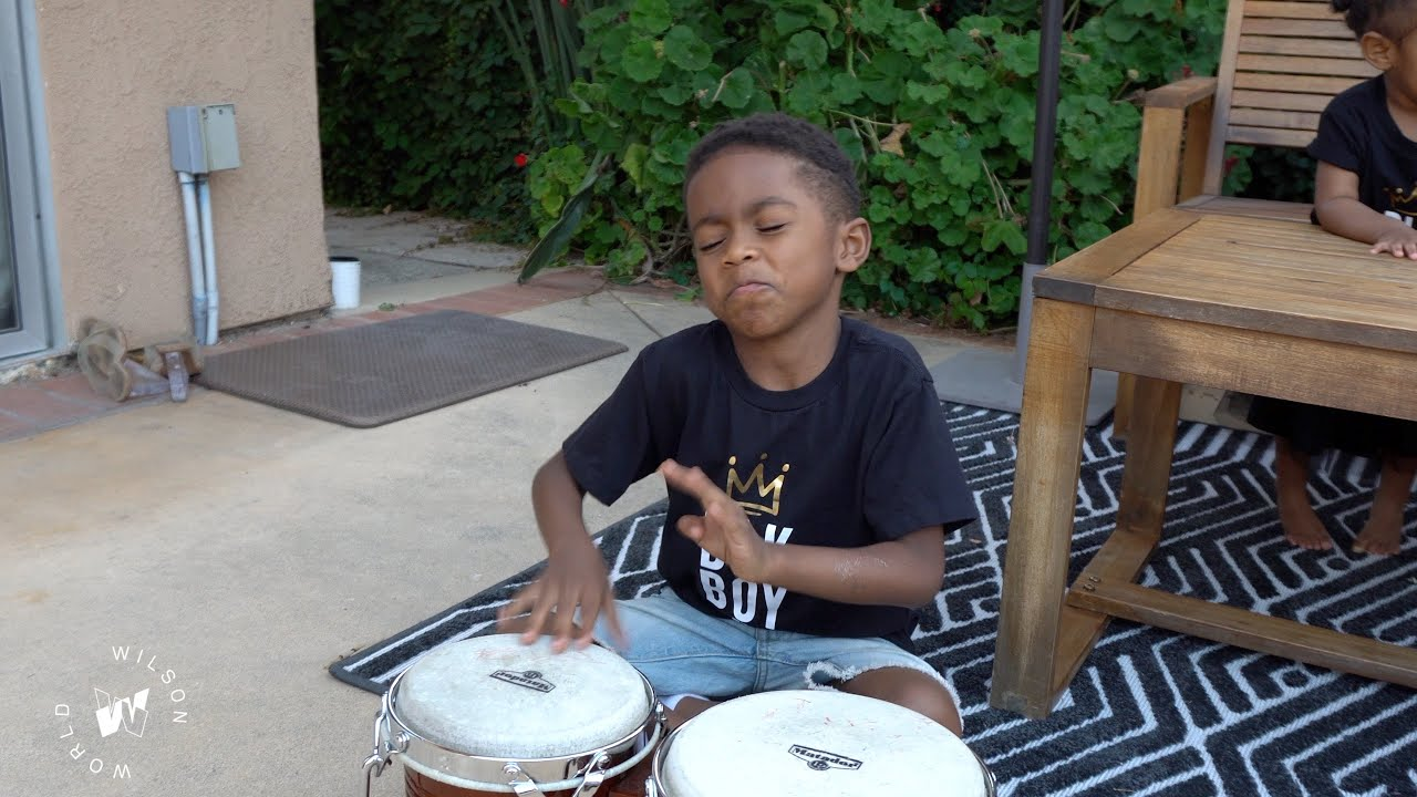 Amazing Bongo performance for Juneteenth | Wilson World