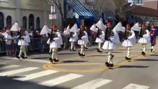 EVZONES @ The 2016 Hellenic Heritage Parade, Sikago