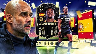 THE MOST BROKEN CARD IN FIFA?! 80 INFORM ADAMA TRAORE PLAYER REVIEW! FIFA 20 Ultimate Team