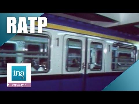 Le métro parisien en 1981 | Archive INA