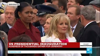 US Presidential inauguration  Michelle Obama arrives at Capitol Hill