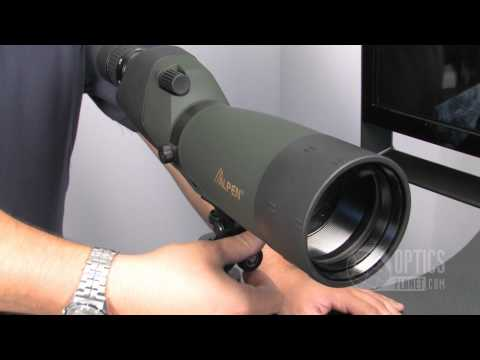 Alpen 20-60x80mm 786 Spotting Scope - OpticsPlanet.com Product in Focus