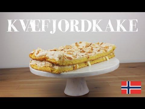 Kvaefjordkake : verdens beste   Norwegian dessert