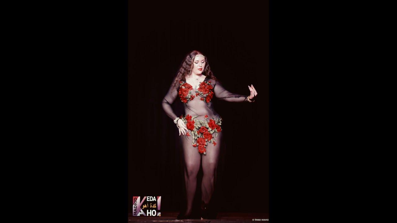 Jarifa en Keda aho Madrid * Danza oriental * Bellydance * راقصة جاريفا