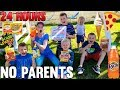 24 Hours with 6 Kids and NO PARENTS!!