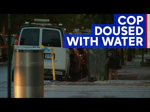 Chris Proctor - Cop Doused With Water In Harlem
