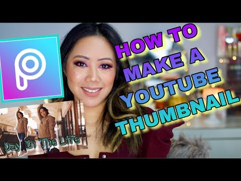 How To PicsArt Tutorial | How To Make A Youtube Thumbnail EASY!