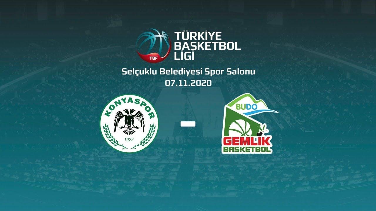 Büyükşehir Hastanesi Konyaspor Basketbol – Budo Gemlik TBL 4.Hafta