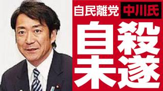 自民離党中川氏 自殺未遂情報を追う 中川俊直 検索動画 28