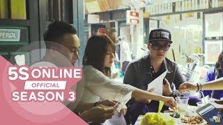 5S Online - Clip hậu trường team 5S ghi âm ca khúc