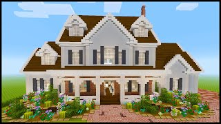 Minecraft: How to Build a Large Suburban House #6 | PART 2
