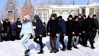 Флешмоб к 30-летию вывода войск из Афганистана с.Панкрушиха