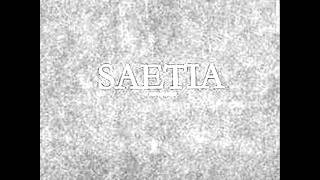 Saetia - The Sweetness And The Light