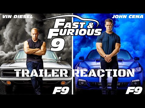 FAST AND FURIOUS 9 TRAILER (2020) – Movie Reaction