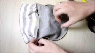 Как сшить шапочку для новорожденного/выкройка