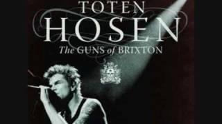 Die toten Hosen Guns of Brixton unplugged