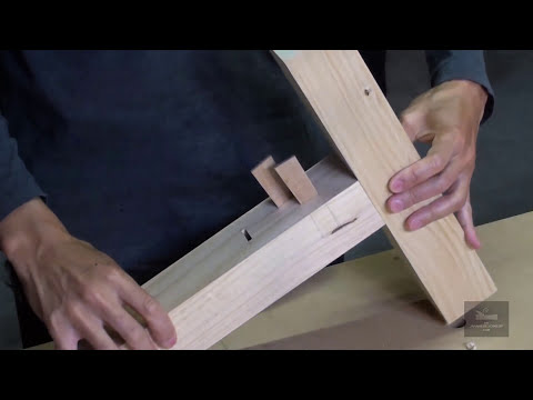 Japanese Woodworking Tips : Clever Alternative to Mortise and Tenon