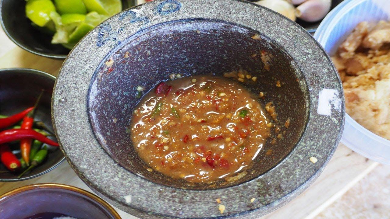 ตำน้ำพริกกะปิให้อร่อย พร้อมเคล็ดลับตำให้ดูน่ากิน