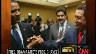 Barack Obama Meets With Hugo Chavez From CNN **Exclusive**