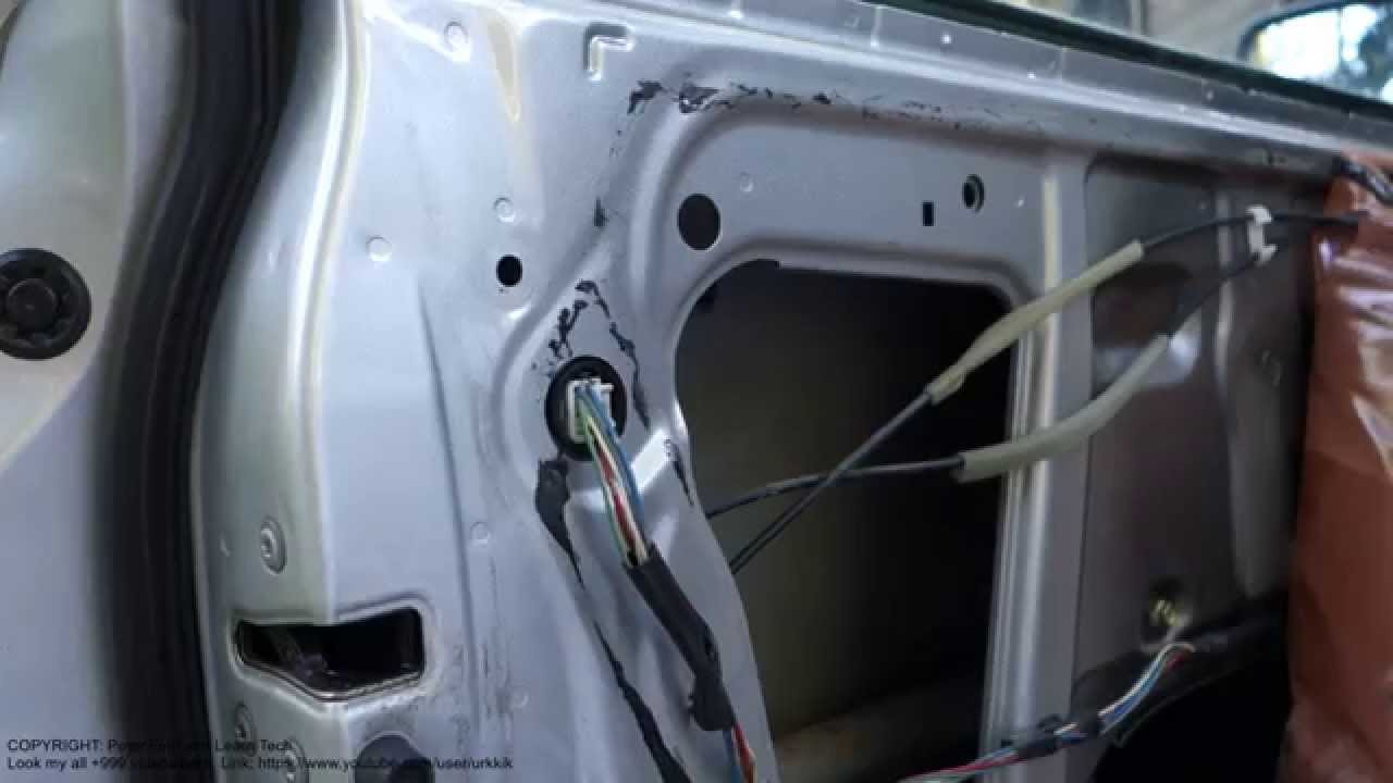 Toyota Corolla Door S Inside Look And Parts Years 2002 To 2008 Youtube