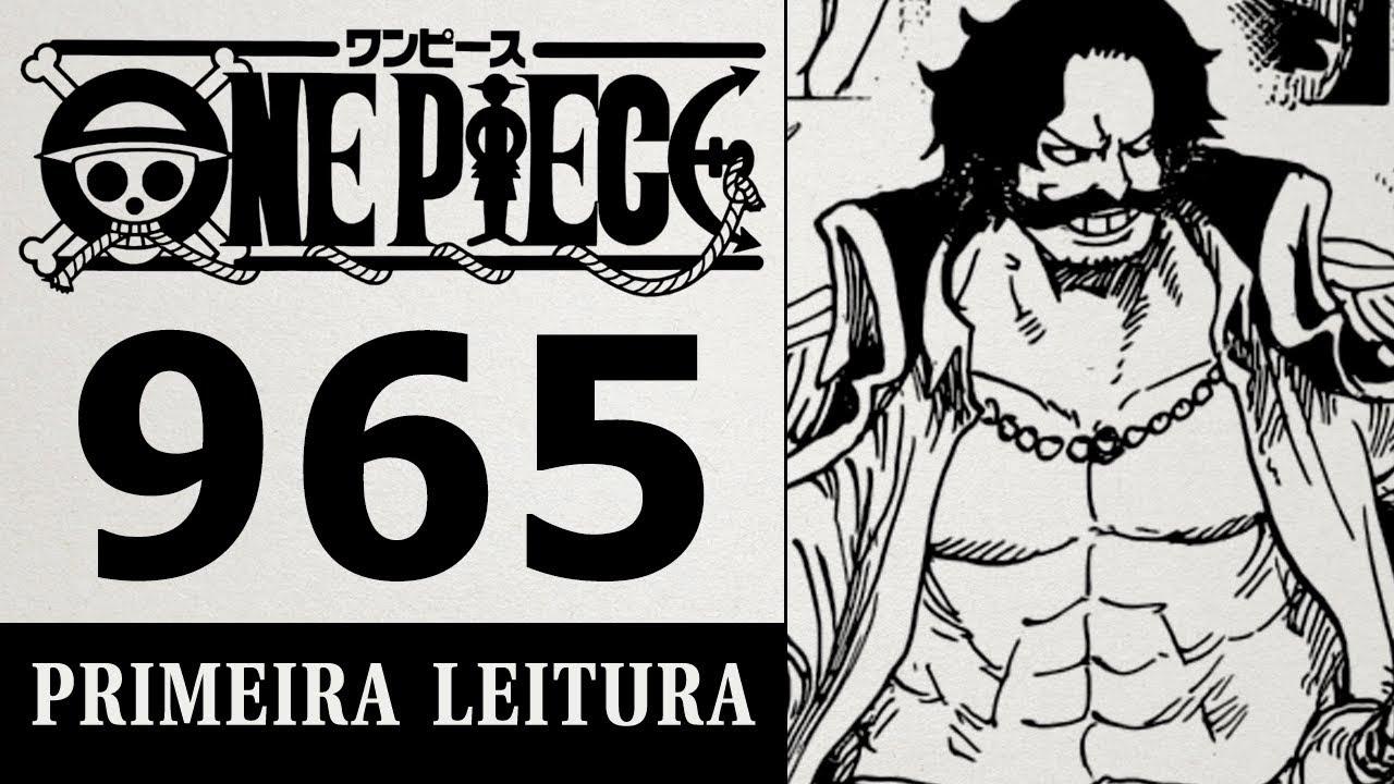 O ÚLTIMO ENCONTRO COM ROGER (One Piece 965