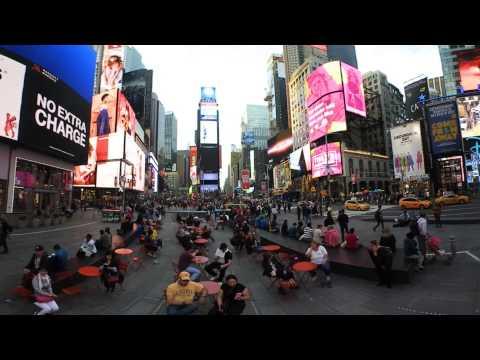 CBC Ottawa 360 video - Times Square, NYC