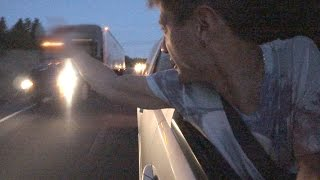 LKW Fahrer BELEIDIGEN | WestCoastTrip #9 | izzi