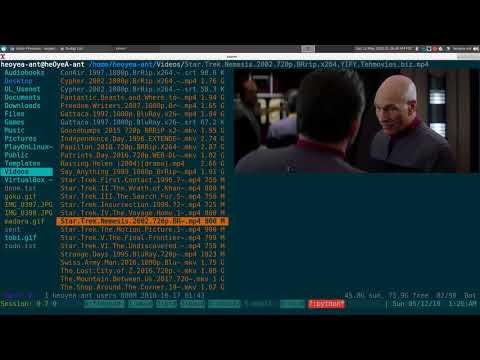 Ranger Video Thumbnails - Linux TUI - YouTube