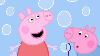 Peppa Pig Full Episodes | Bubbles  | Cartoons for Children