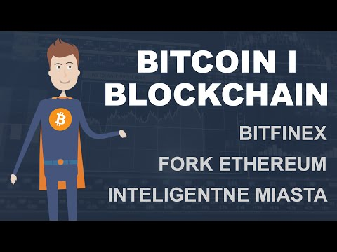 Bitcoin i Blockchain #1 - Włamanie na Bitfinex, fork ethereum i inteligentne miasta