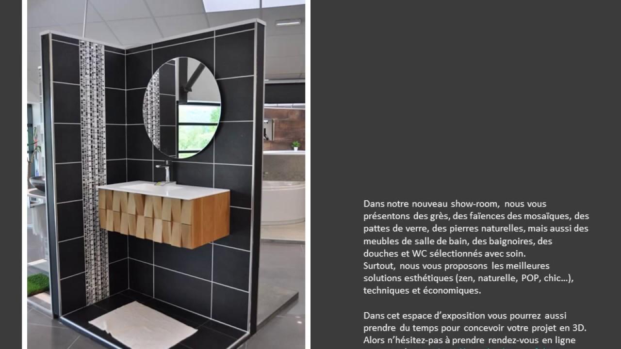 Carrelage Salle De Bain Avec Mosaique nouveau show room carrelage salle de bain ampuis juin 2017