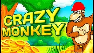 постер к видео Казино Вулкан, как выиграть в CRAZY MONKEY? Игровые автоматы онлайн