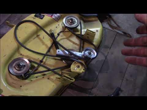 John Deere X300 Belt Breaking Update.