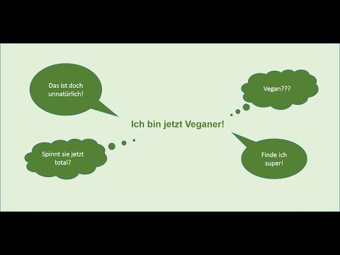 Ich bin jetzt Veganer - Wie meine Freunde und meine Familie reagiert haben