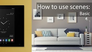 How to use scenes [basic]