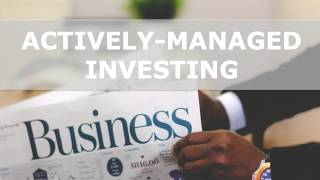 Actively-Managed VS. Passively-Managed Investing: The Debate